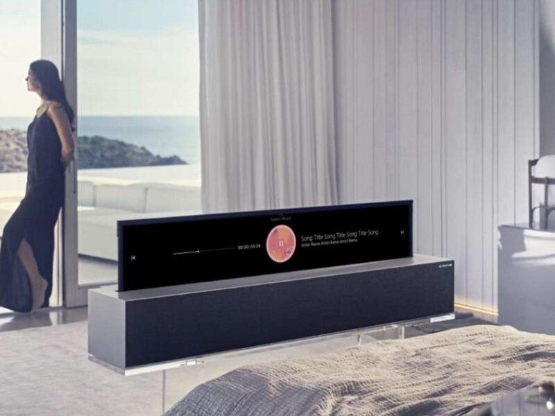 LG SIGNATURE OLED R: il primo televisore al mondo che si arrotola su se stesso!