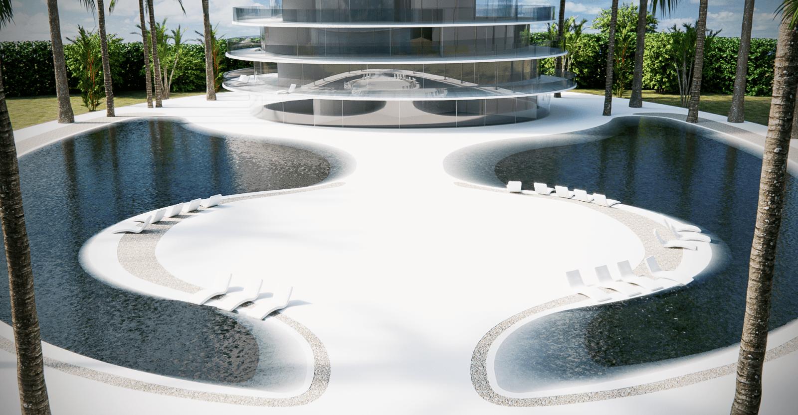 Onda Luxury Residential Tower Architettura Made in Italy opera dell'estro di Giacomo Fava