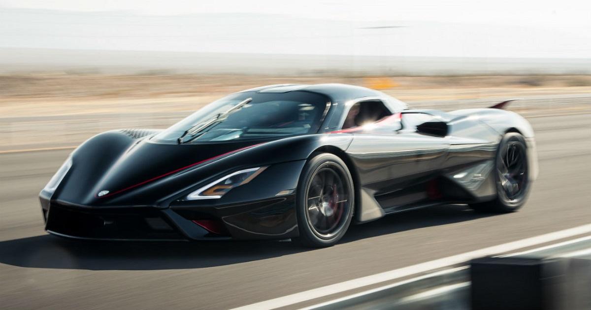 532,93 km/h di velocità massima SSC Tuatara è l'auto più veloce di sempre