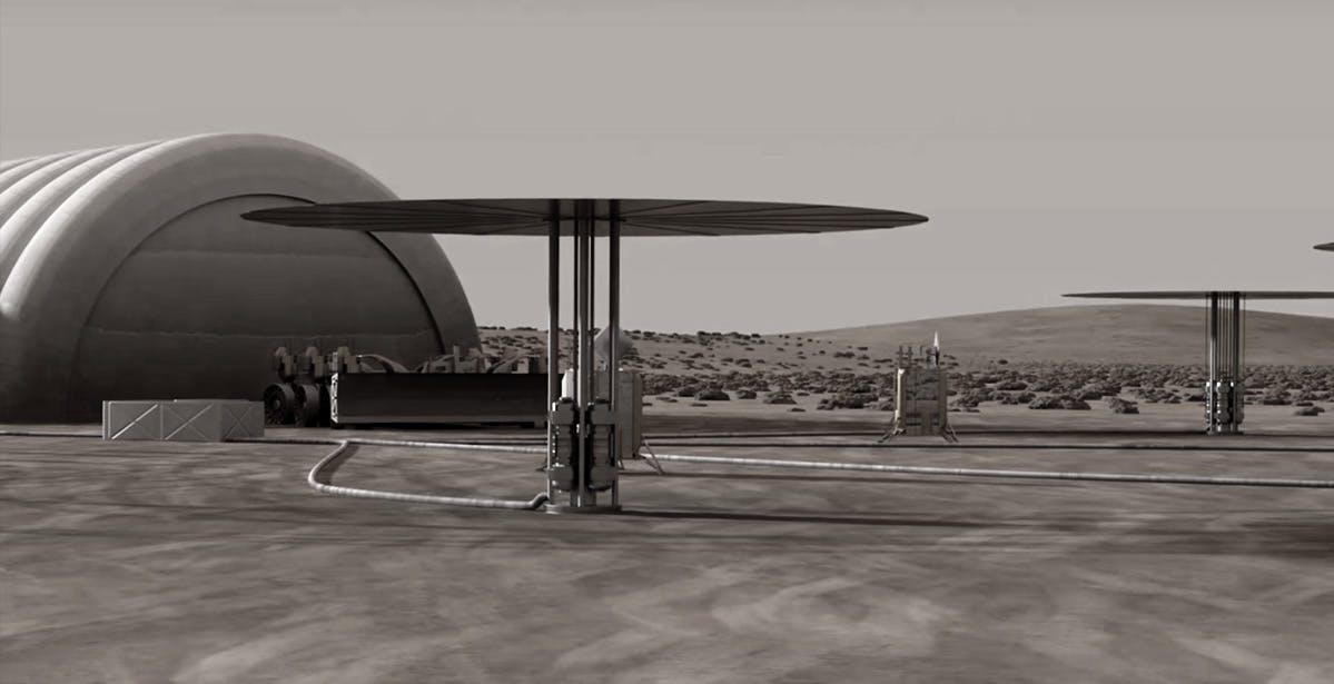 Centrale Nucleare sulla Luna l'ambizioso progetto della NASA