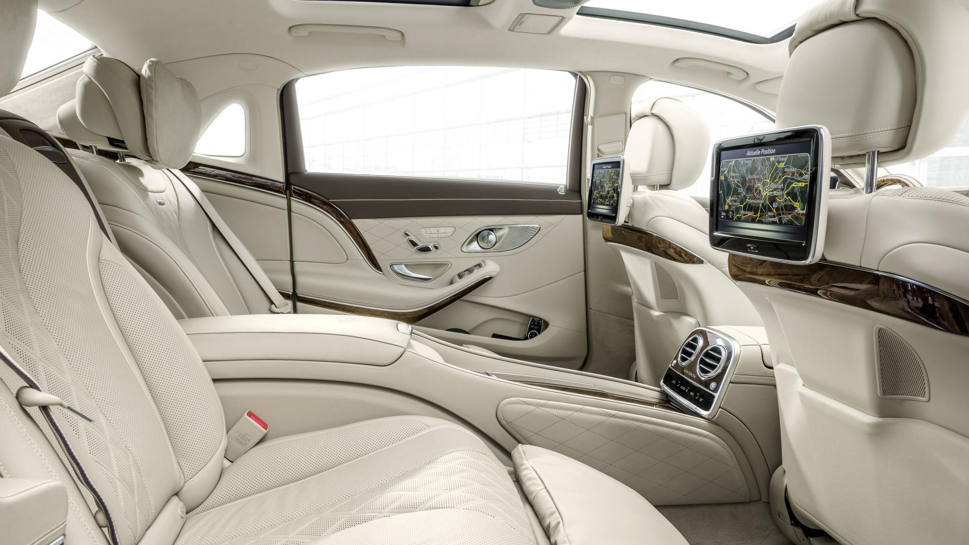 Nuova Mercedes Maybach Classe S