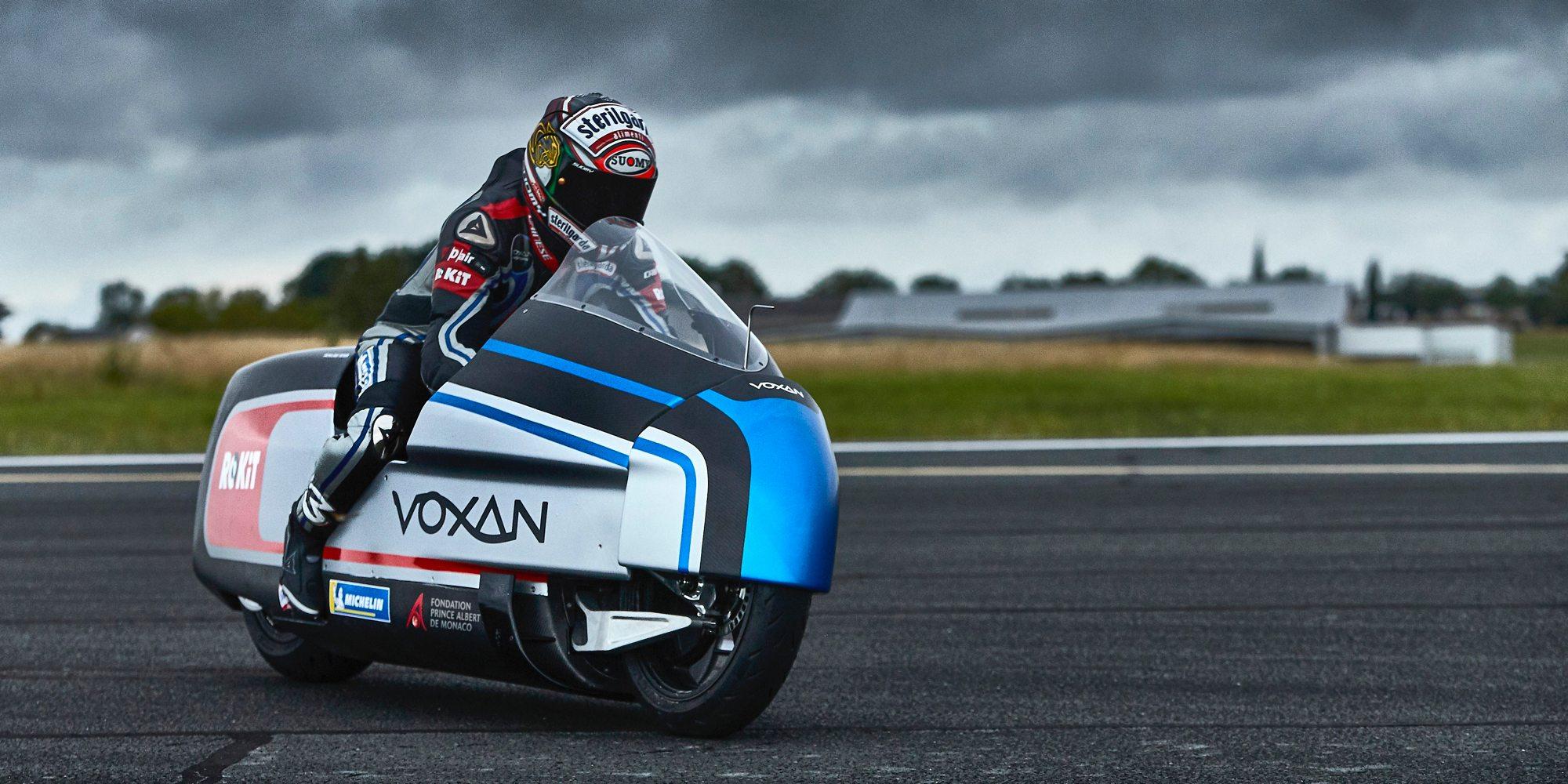 Voxan Wattman Elettrica, la moto elettrica più veloce al mondo. Parola di Max Biaggi!