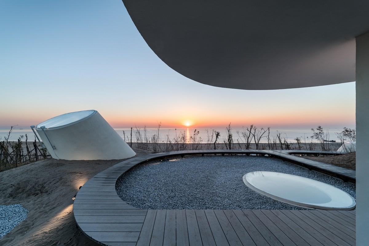 UCCA Dune Art Museum Cina Il museo che si integra con la natura