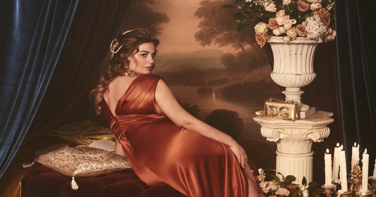 Vanessa Incontrada Dolce & Gabbana: la linea curvy diventa opera d'arte