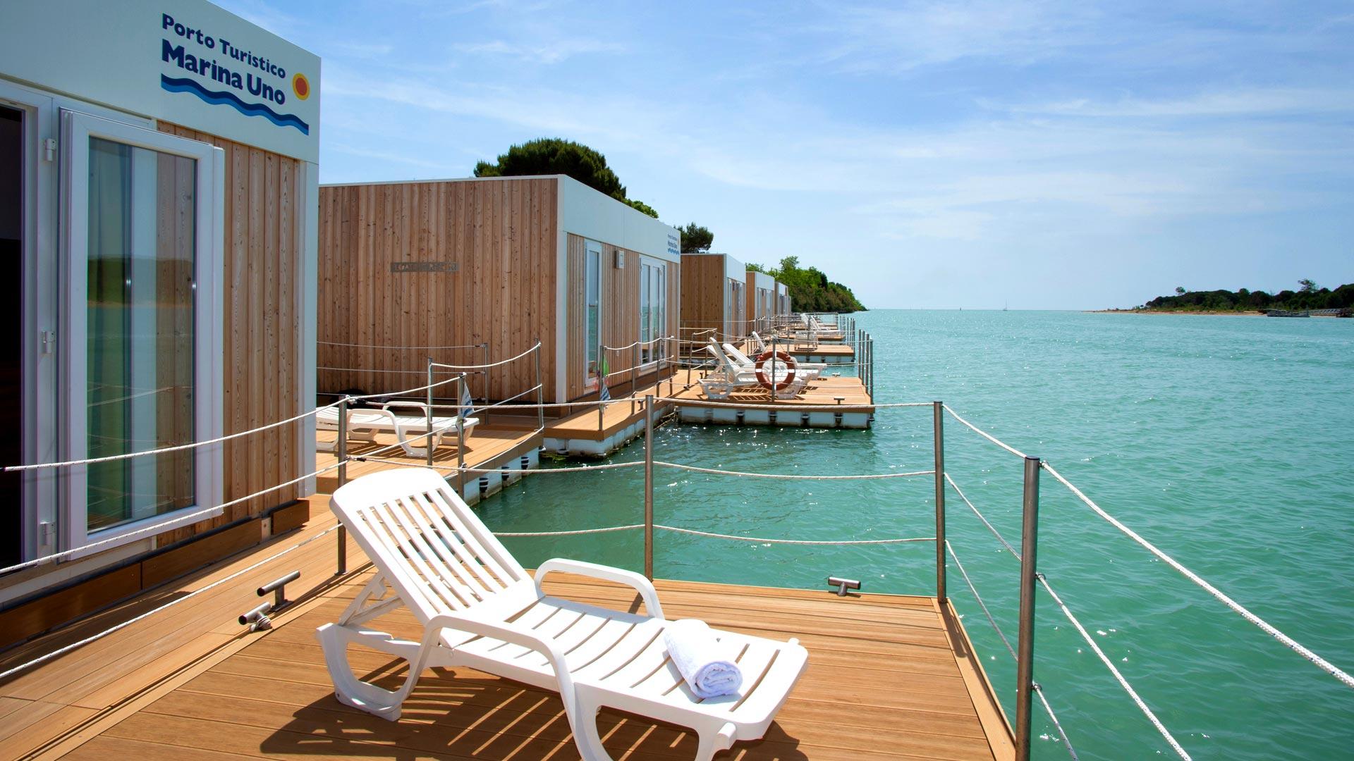 """Case galleggianti Rimini: sul porto è tutto pronto per il """"Marina Resort"""""""