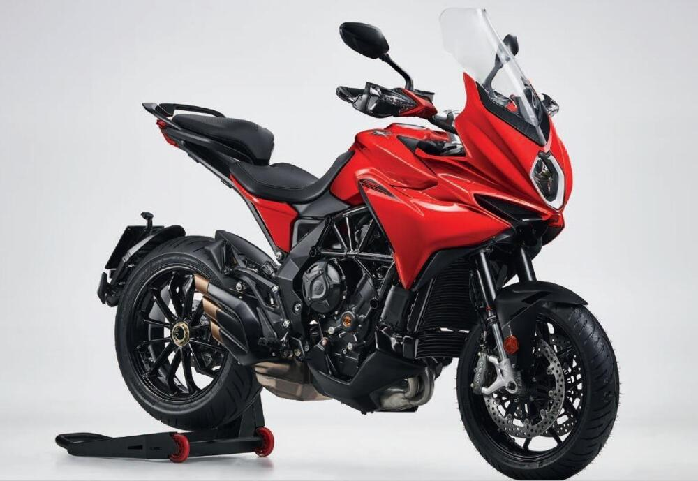 Mv Augusta Turismo Veloce 2021 rosso