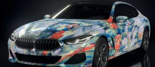 BMW The Ultimate AI Masterpiec: Arte e AI si incontrano, la Serie 8 Gran Coupé si trasforma in una tela!