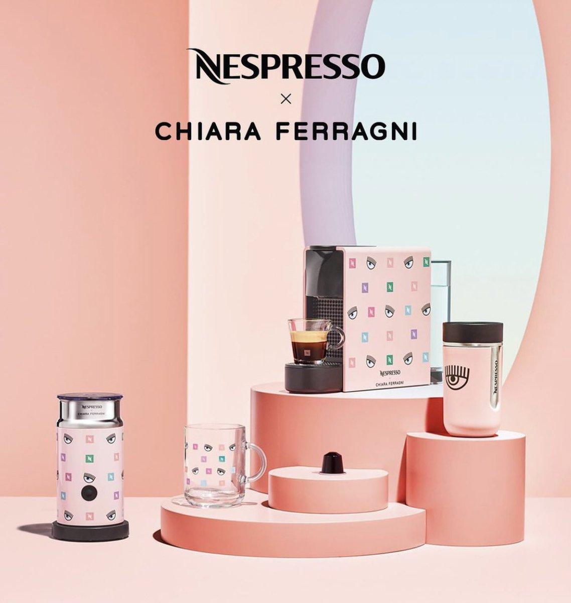 Nespresso per Chiara Ferragni: la Regina del marketing colpisce ancora