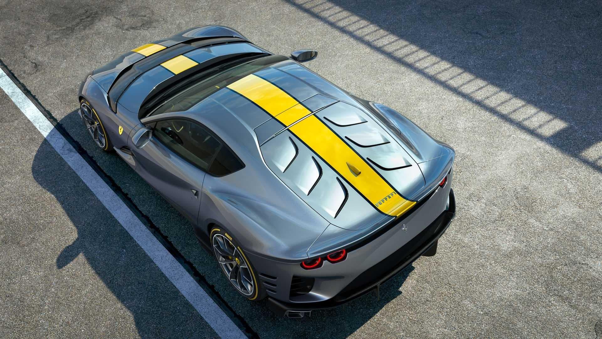 Ferrari 812 Competizione: 830 cavalli in edizione limitata