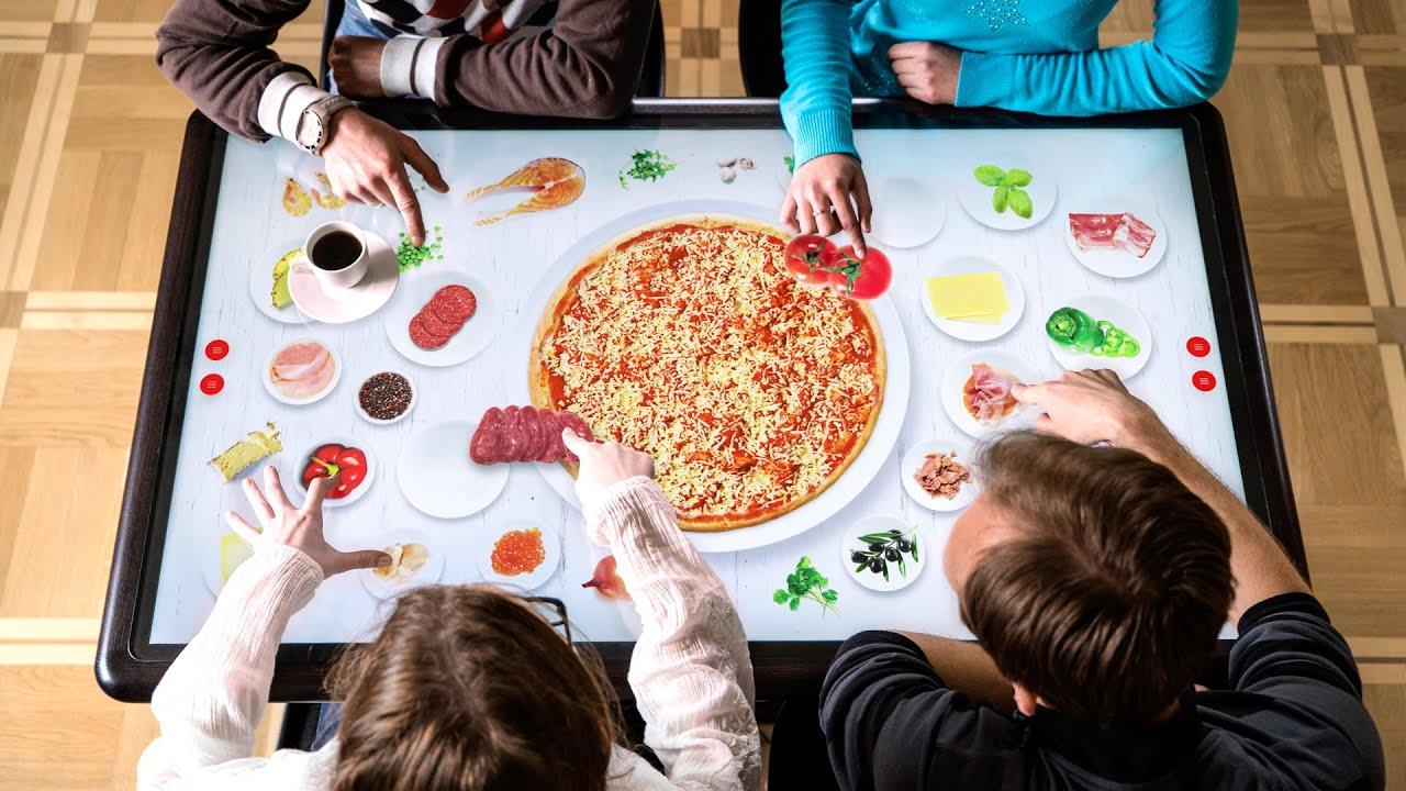 Ristoranti hi-tech: la tecnologia invade anche il mondo del food