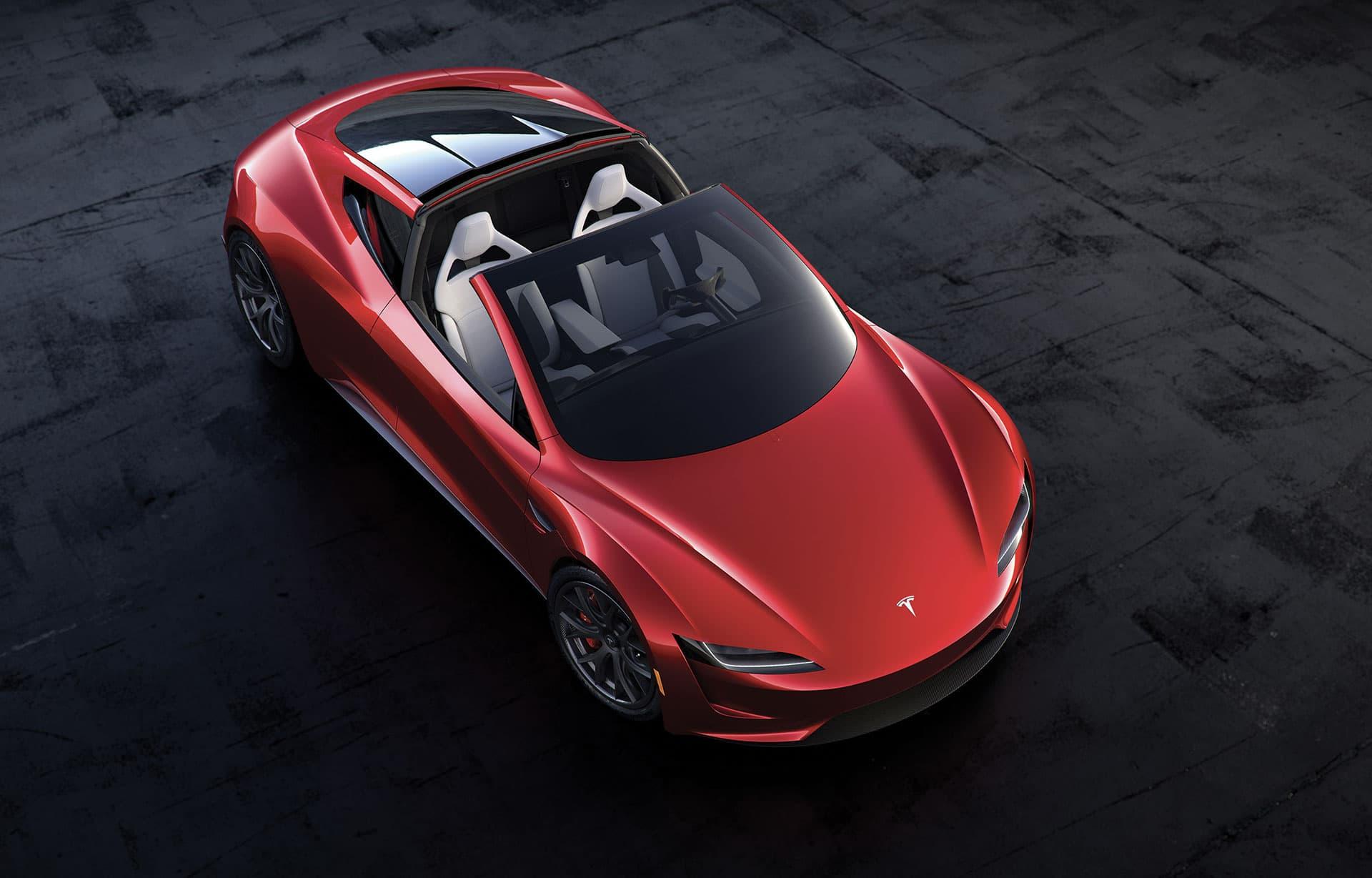 Tesla Roadster 2022 Numeri da capogiro: un missile da 0-100 in 1,1 secondi!