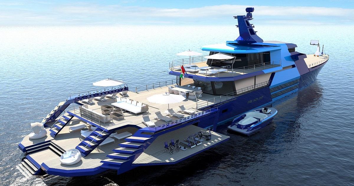 """Yacht Rivellini Extended Explorer La vita a bordo si """"allarga"""" in modo stupefacente"""