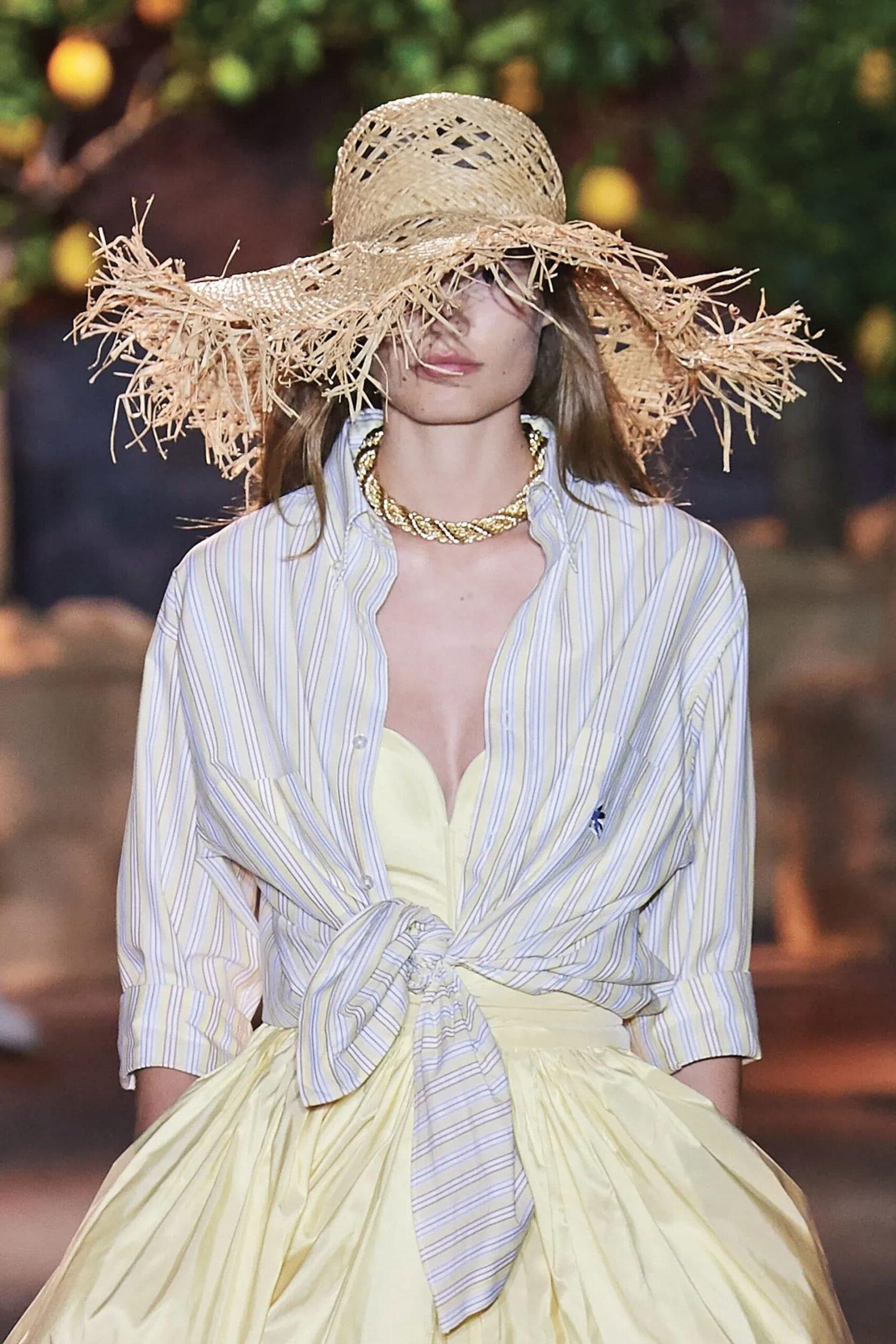 Cappelli di paglia Estate 2021 Un grande classico che distinguerà il vostro stile in modo impeccabile