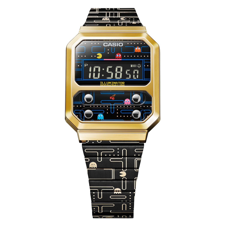 Orologio Casio Pac-Man Un omaggio alla Tecnologia Anni Ottanta