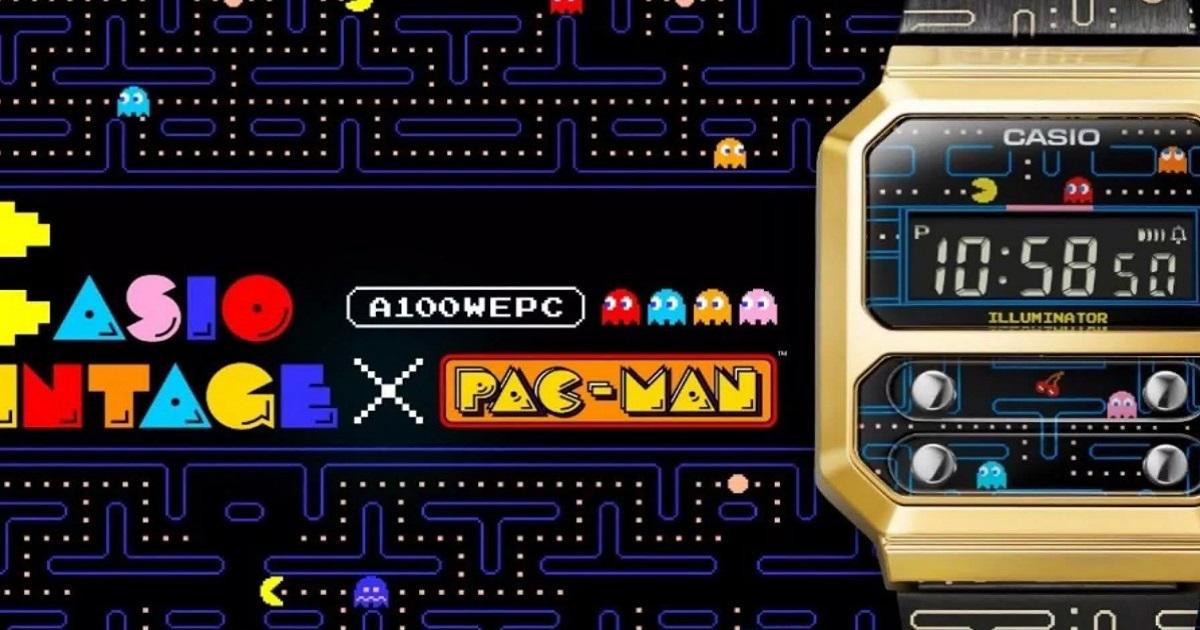Orologio Casio Pac-Man