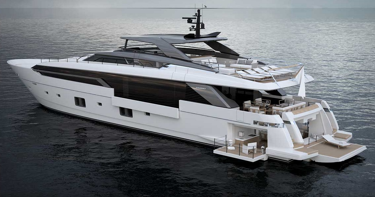 Yacht Sanlorenzo SL120 Asymmetric: il concetto di asimmetria alla sua massima espressione