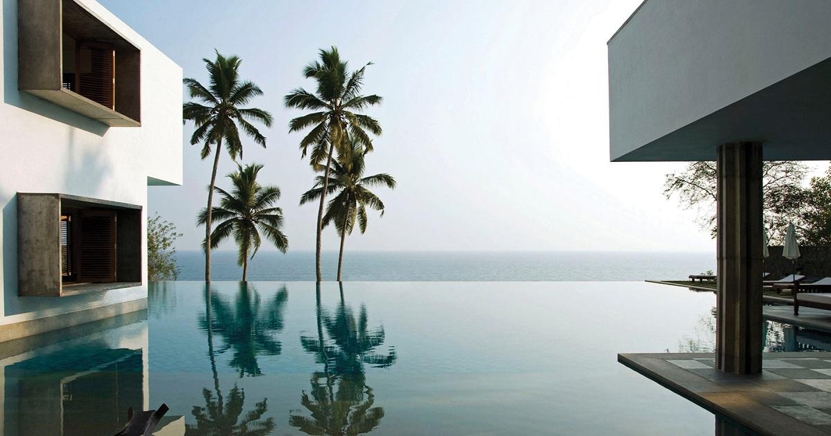 Cliff House India: abitare l'acqua