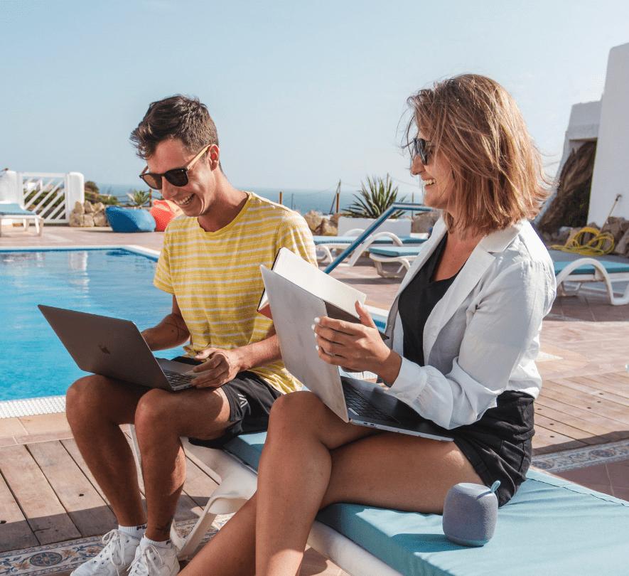 Floasis: quando il lavoro diventa sinonimo di vacanza