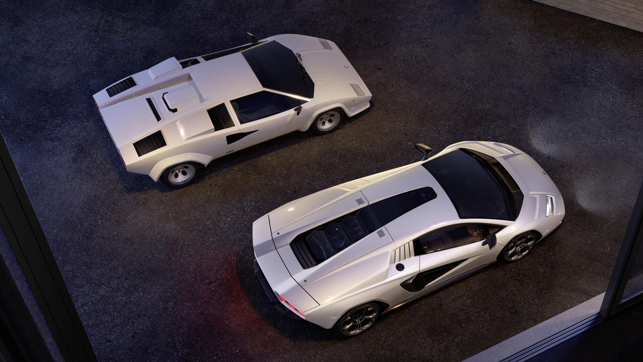 Lamborghini Countach LPI 800-4: tornano gli anni Ottanta in chiave ibrida